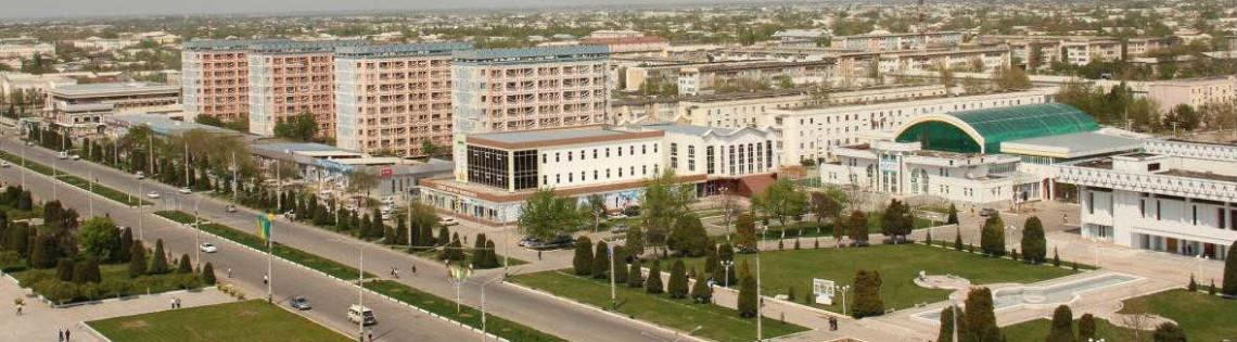 'Город Джизак в республике Узбекистан