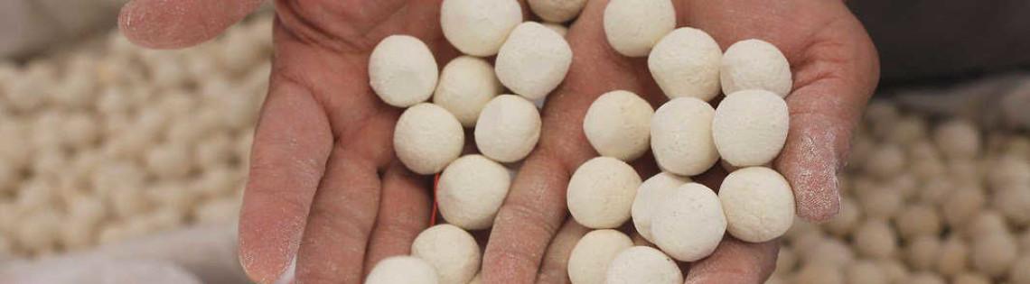 'Узбекские сырные шарики – курт