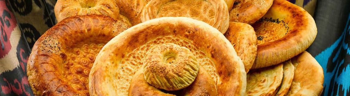 'Лепешка – традиционный национальный хлеб жителей Узбекистана