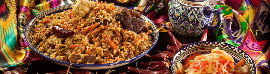 'Национальное блюдо Узбекистана – плов