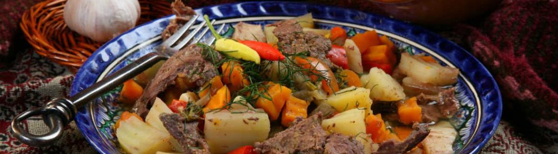 'Вторые блюда в Узбекской кухне