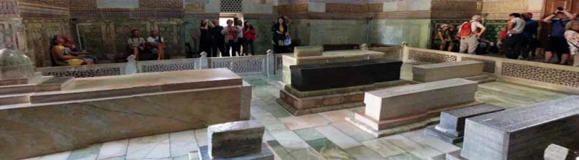 'Усыпальница Тамерлана в мавзолее Гур Эмир в Самарканде