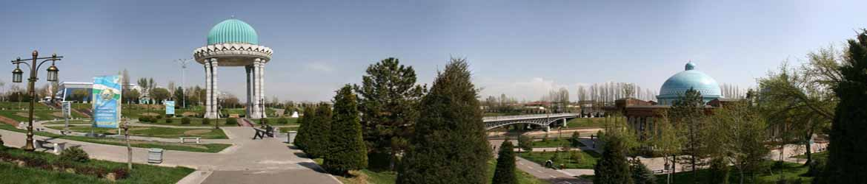 Великолепные парки и скверы Ташкента