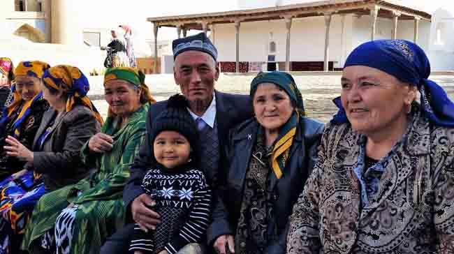 основное население ташкента
