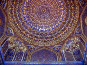 внутри мавзолея Гур Эмира