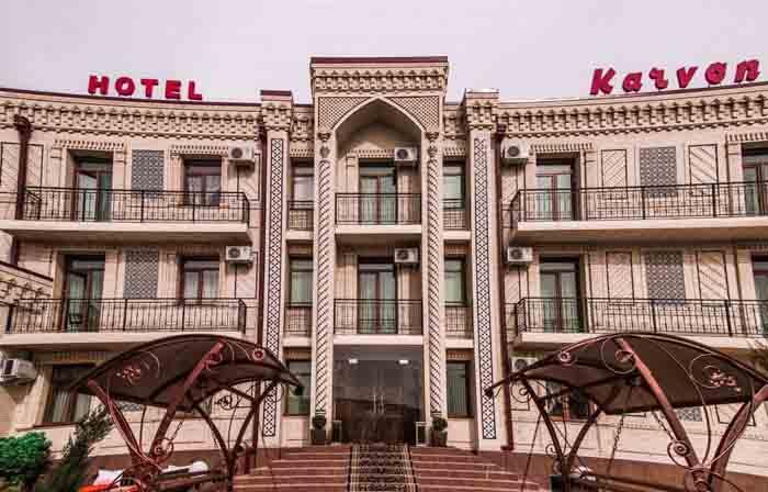 гостиницы Самарканда
