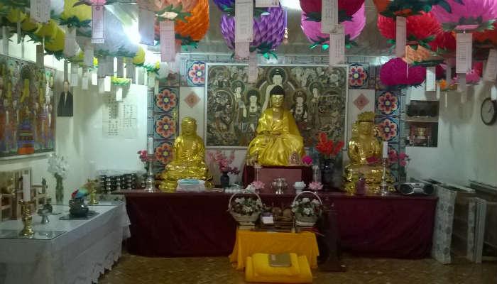 Буддийский храм в Ташкенте