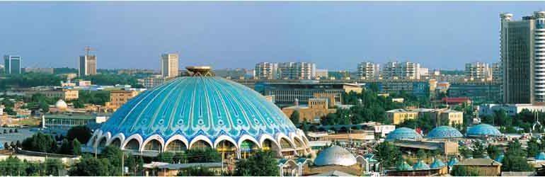 Город Ташкент на карте