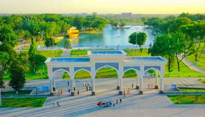 парк Алишера Навои
