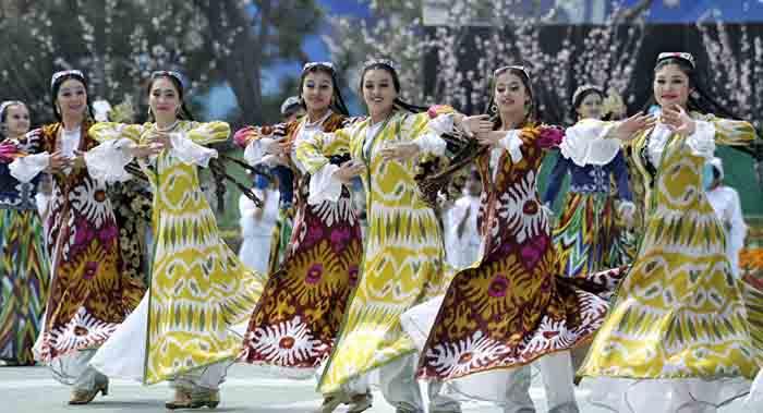 танцы узбеков