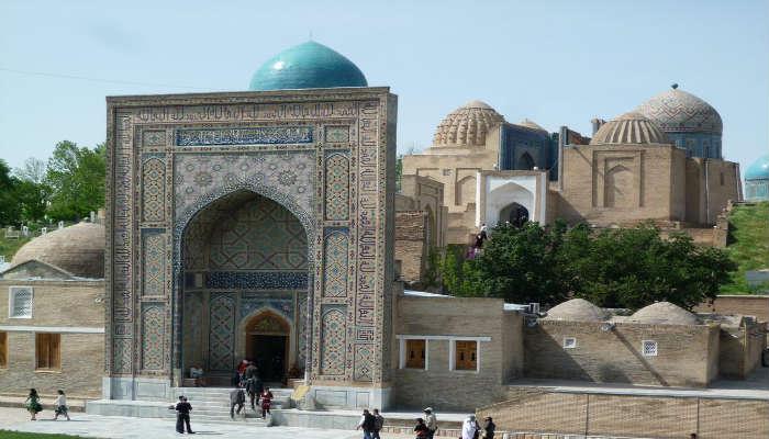 Мемориальный комплекс Шахи Зинда