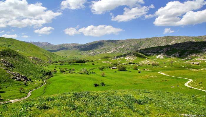 долина реки Зеравшан
