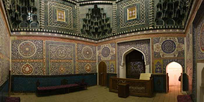 Мавзолей Кусама Ибн Аббаса в Самарканде