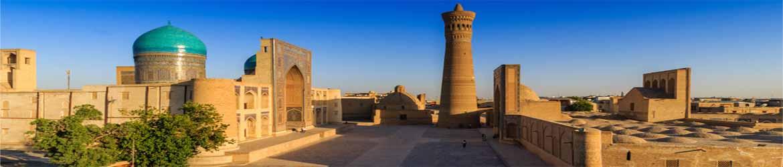 Минарет Калян и мечеть Калян в комплексе Пои Калян в Бухаре