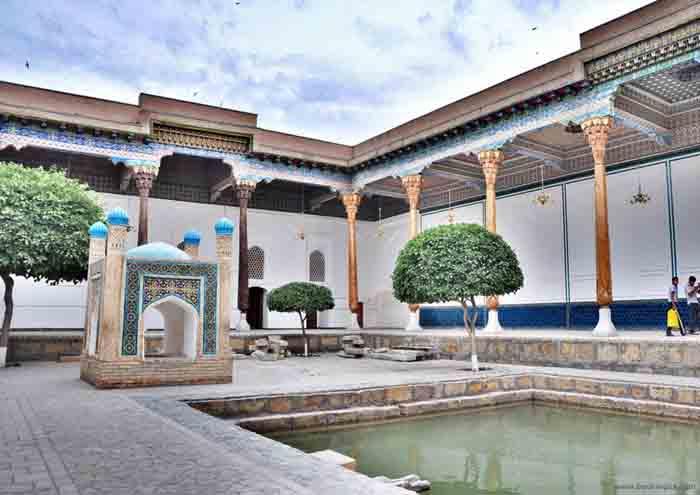 Бахауддин Накшбанди в Бухаре и мемориальный комплекс Накшбанди