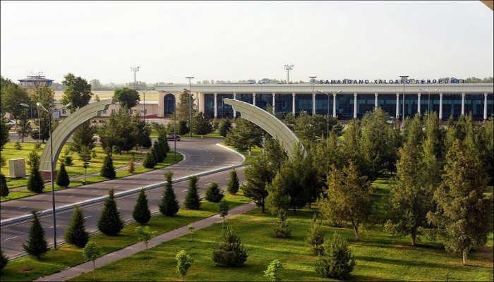 здание Самаркандского аэропорта