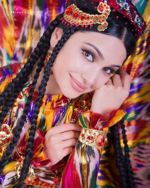 узбекский женский костюм