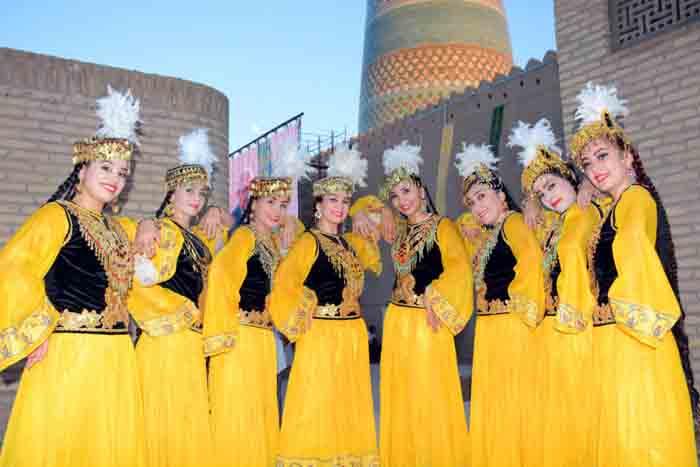 танцы узбекистана