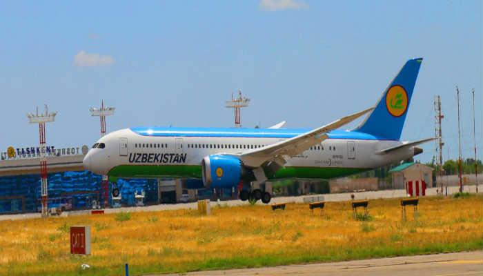 авиасудно узбекских авиалиний
