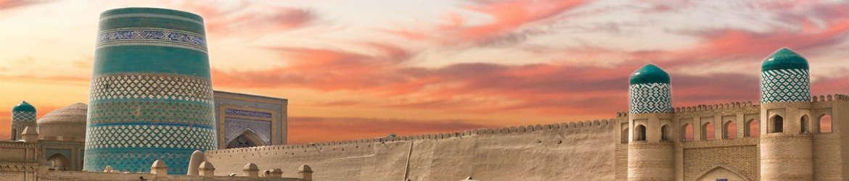 Панорама Хивы