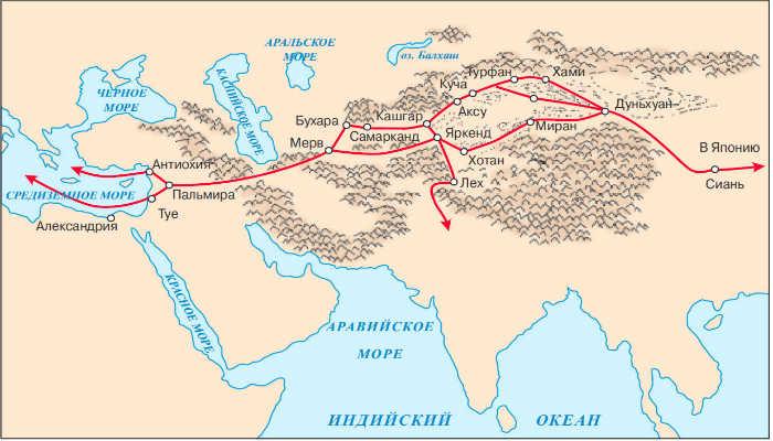Маршрут Великого шёлкового пути