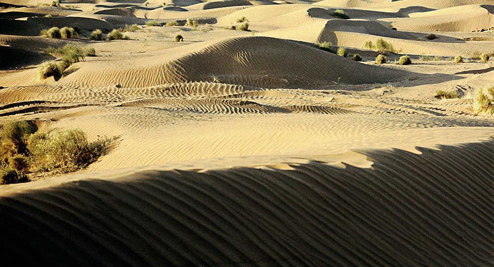 пески Кызылкум