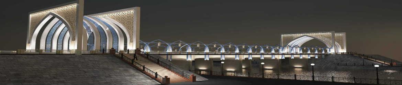 мост в Ургенче