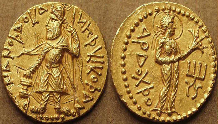 монеты Кушанского царства