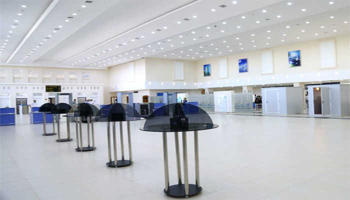 зал аэропорта Ургенч