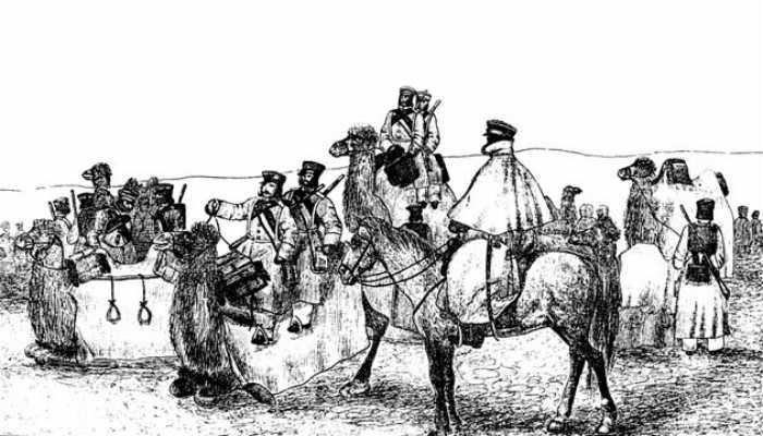 рисунок Хивинских походов