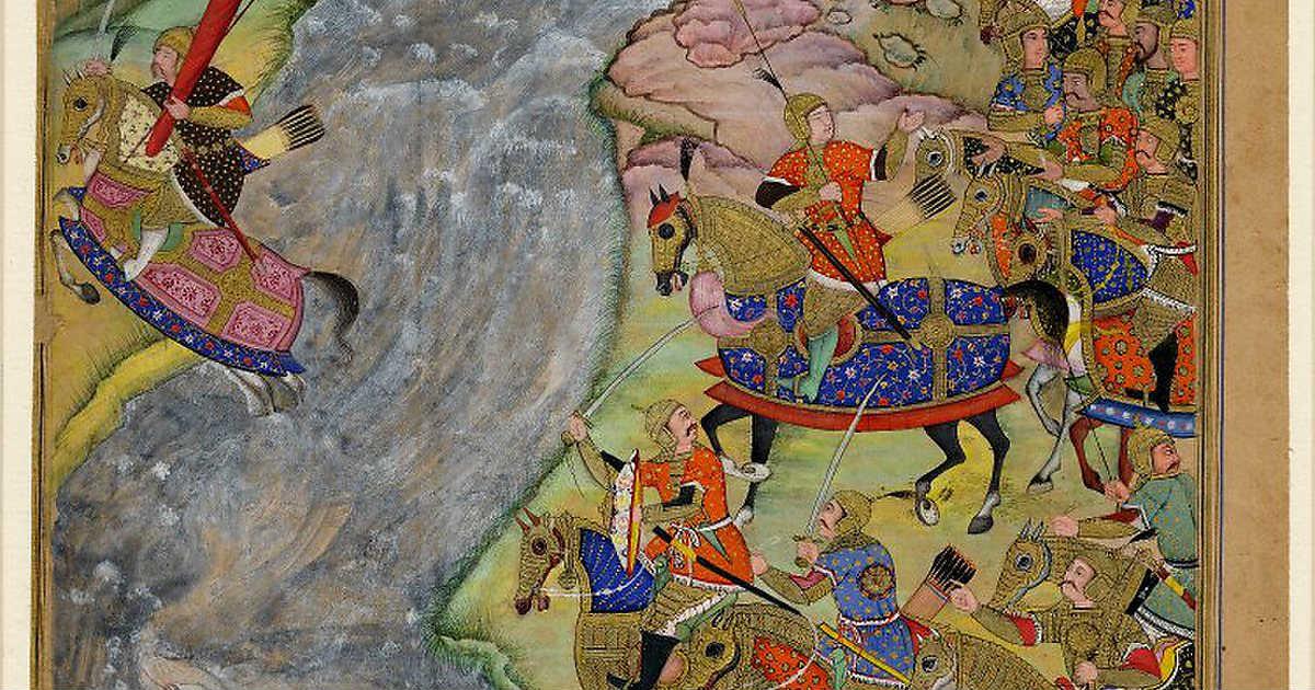 битва Жалолиддин Мангуберди с Чингис-Ханом