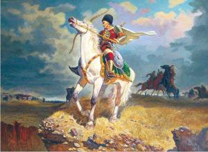 картина Жалолиддин Мангуберди