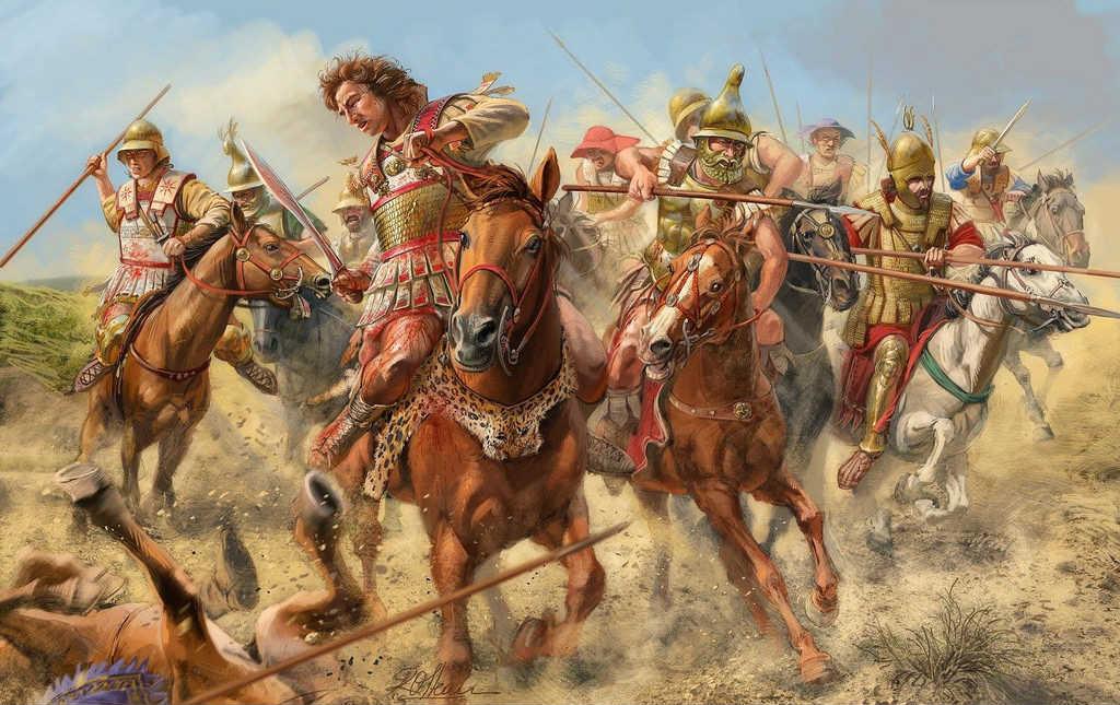 Битва Александра Македонского