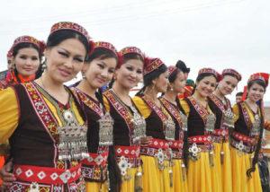 женщины Каракалпакстана