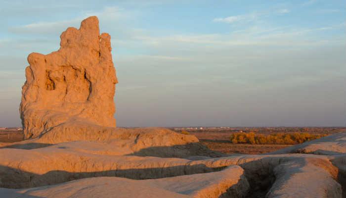 Крепость Гяур-кала