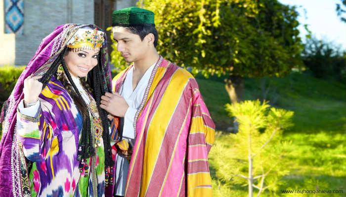 узбекская пара
