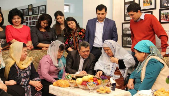 узбекская семья