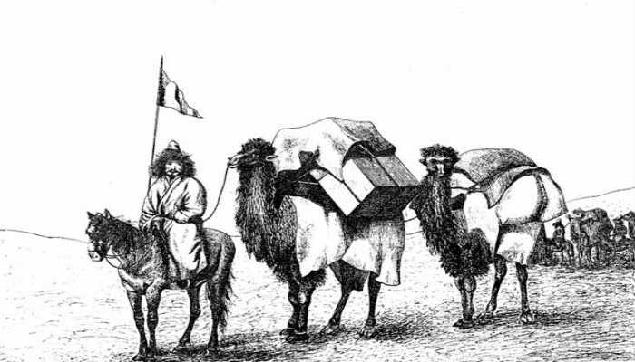 рисунок Хивинский поход