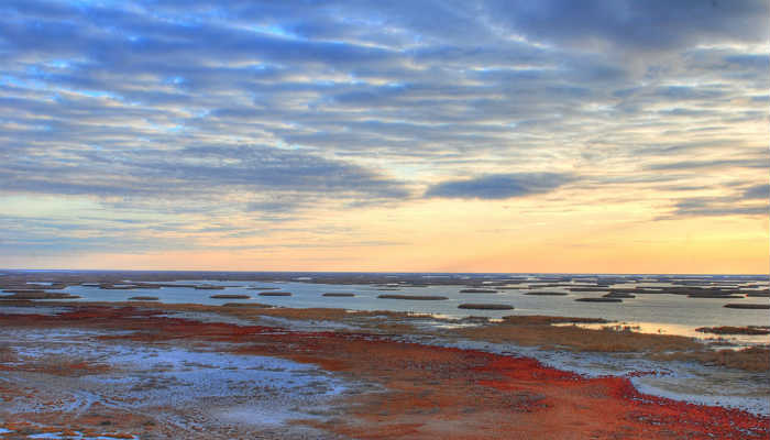 Озеро Судочье, дельта Амударьи