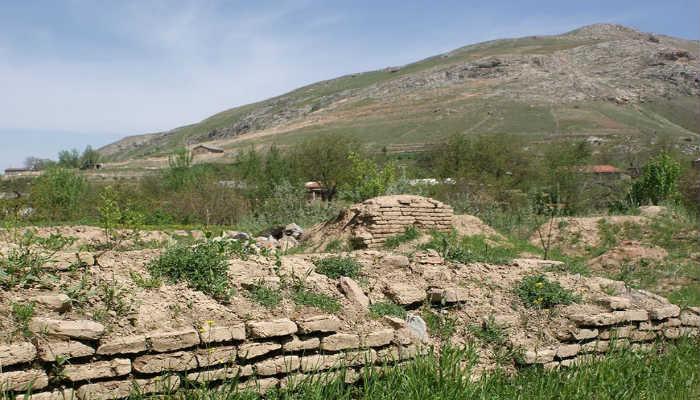развалины христианского храма