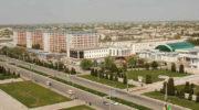 Город Джизак в республике Узбекистан