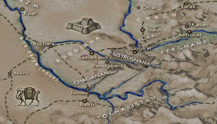 карта Устрашана