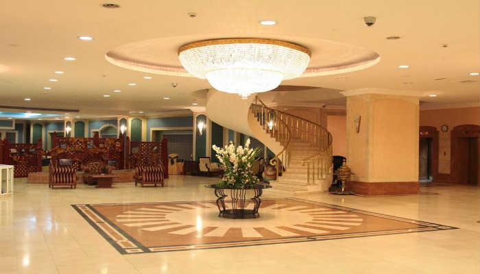 рресепшн отель Узбекистан